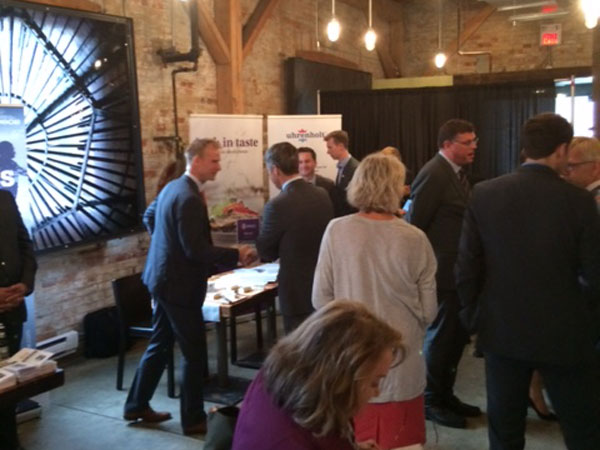 Danish companies were represented to promote Danish export and trade