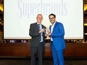 Awarded Superbrand for the seventh time